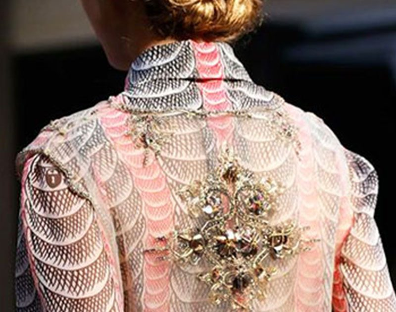Beautiful Fashion Details…Schiaparelli